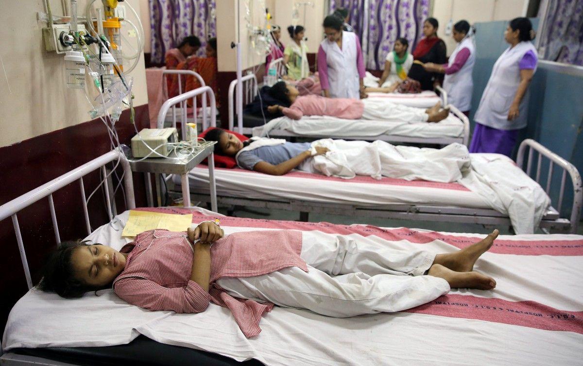 В Індії 30 дітей померли від енцефаліту за2 дні
