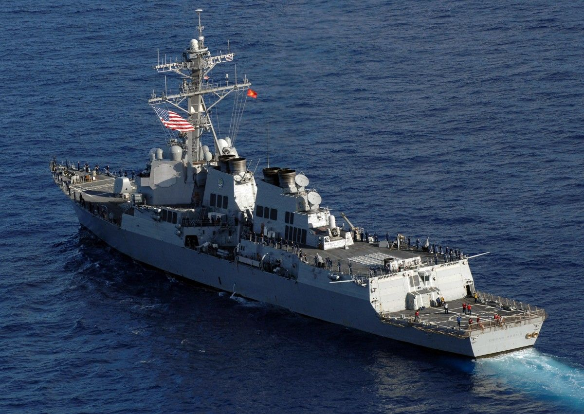 USS Oscar Austin (DDG79) / Photo c6f.navy.mil