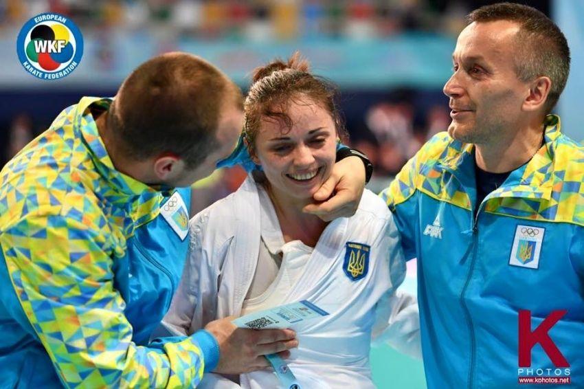 Екатерина Кривая - чемпионка Европы по каратэ / wkf.com.ua