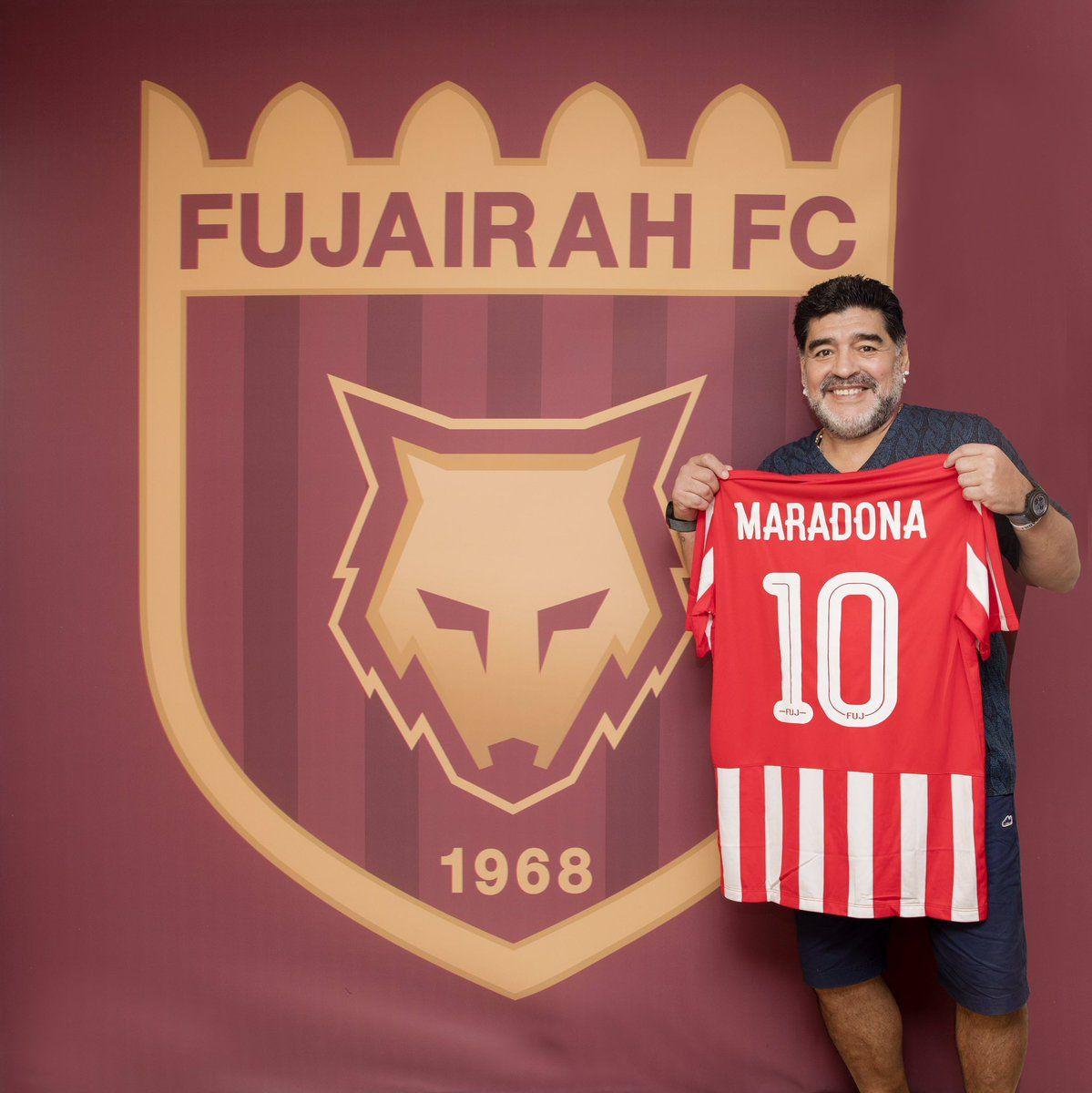 Диего Марадона возглавил клуб из ОАЭ / twitter.com