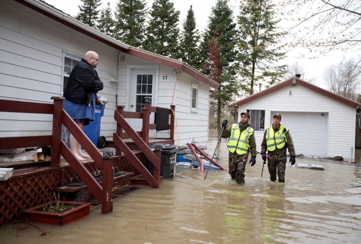 Повінь в Канаді / Reuters