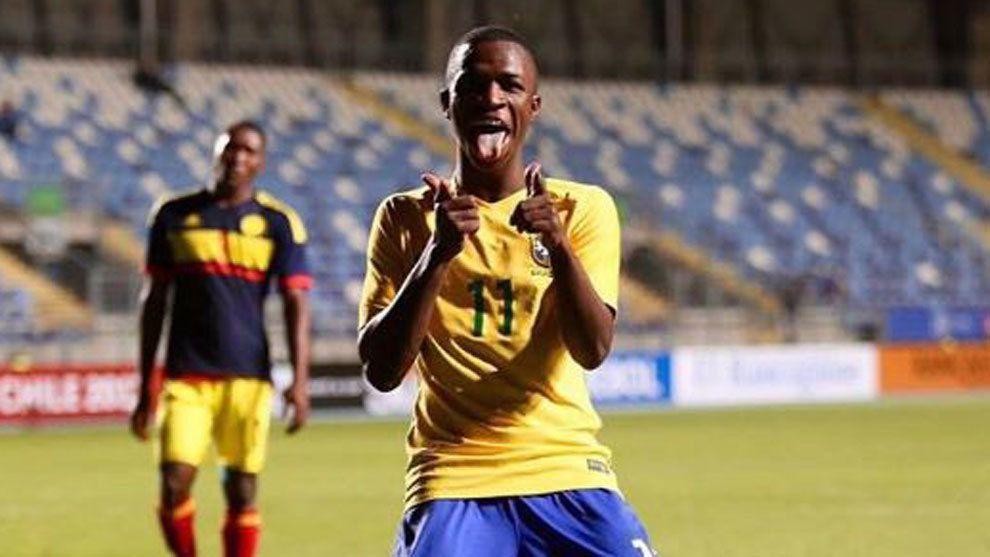 Винисиус Жуниор - один из самых талантливых футболистов Бразилии / marca.com