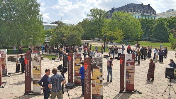 Выставка будет экспонироваться на площади перед Национальным музеем истории Украины / istpravda.com.ua