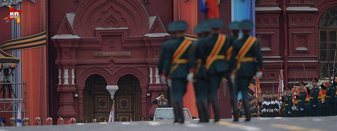 Moscow's Red Square / Photo from Komsomolskaya Pravda