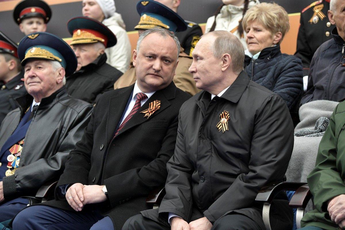 Владимир Путин и Игорь Додон / REUTERS