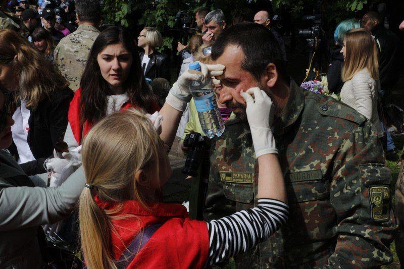 В Днепре 9 мая произошли стычки / informator.dp.ua
