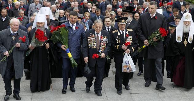 Кличко привітав ветеранів-киян із Днем перемоги над нацизмом / Фото kievcity.gov.ua