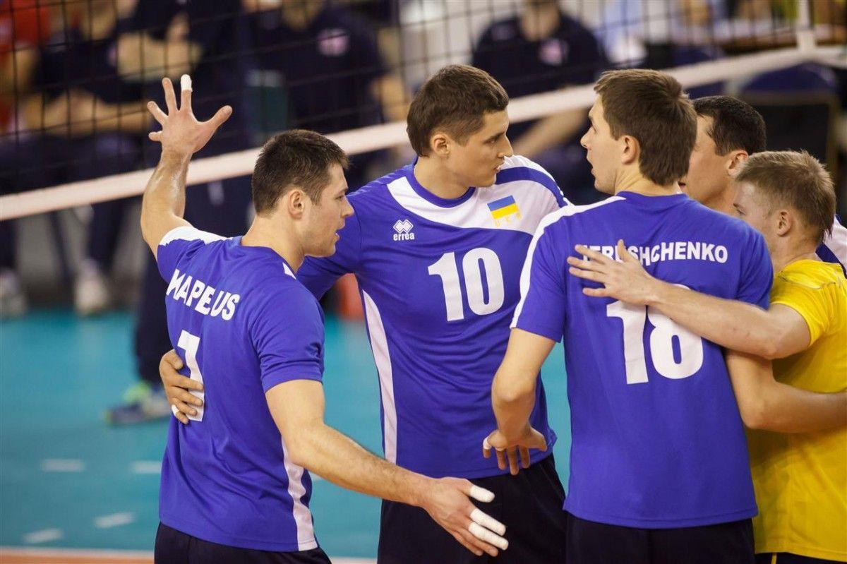 Вскоре сборная Украины стартует в квалификации к чемпионату мира / cev.lu