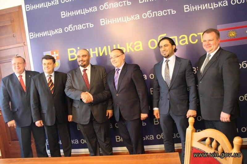 На Вінничину приїхав саудівський принц Абдалла / vin.gov.ua