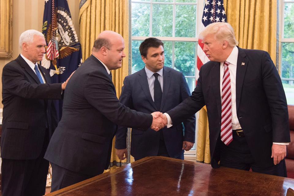 Трамп зустрівся з Клімкіним / facebook.com/Valeriy Chaly
