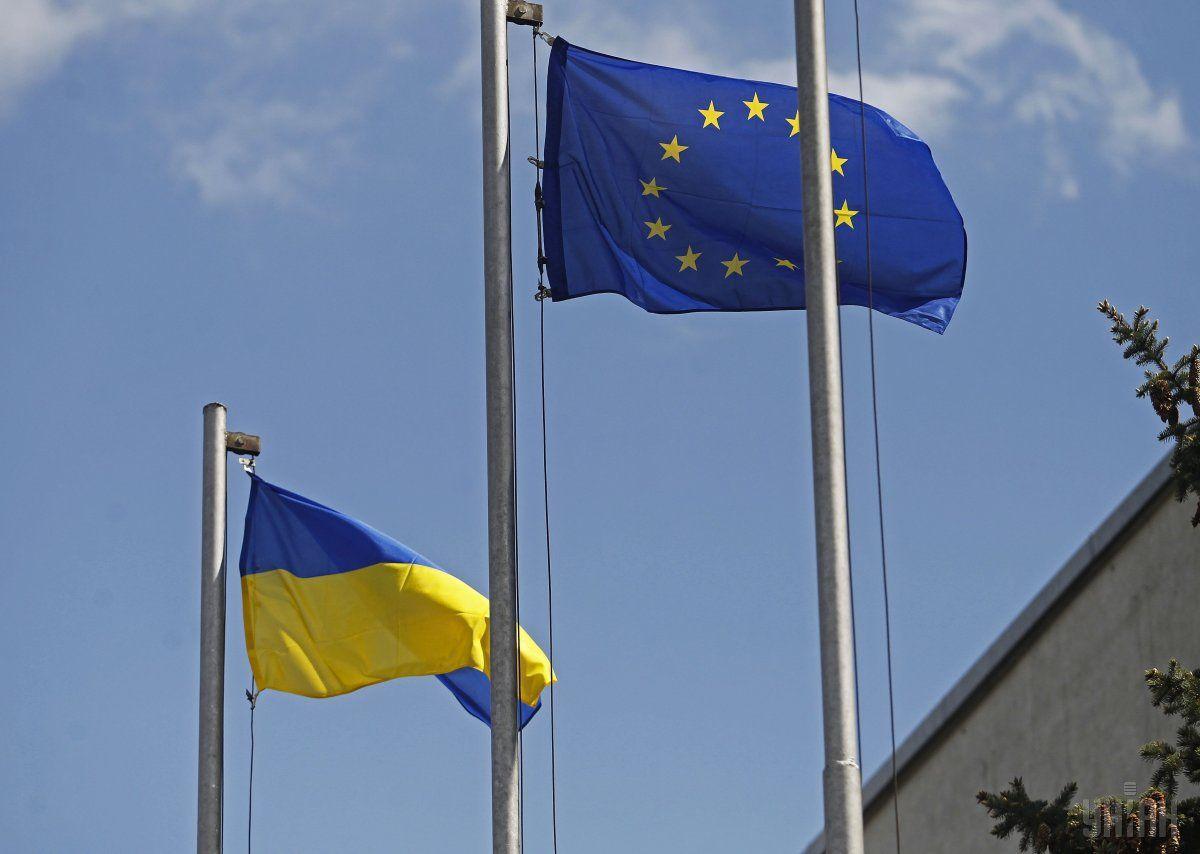 Могеріні заявила, що впродовж п'яти років ЄС завжди був на стороні українських громадян / УНІАН