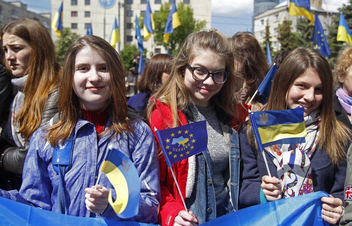 Більшість українців хочуть до Євросоюзу / фото УНІАН