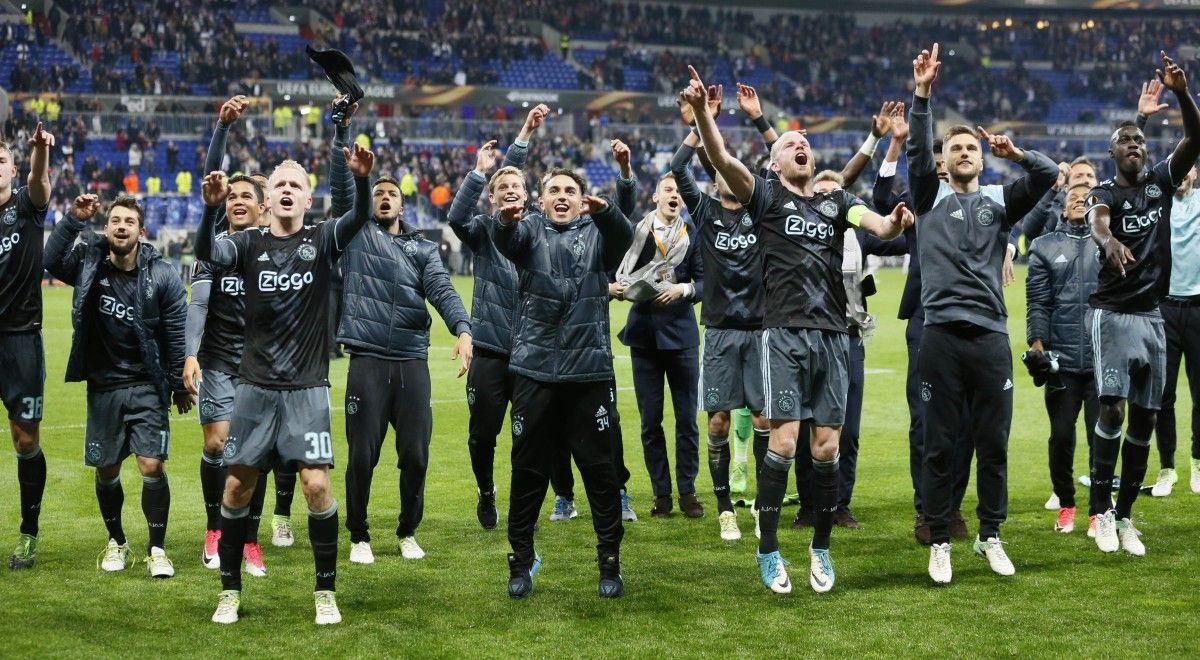 """Игроки """"Аякса"""" сыграют в финале Лиги Европы / Reuters"""