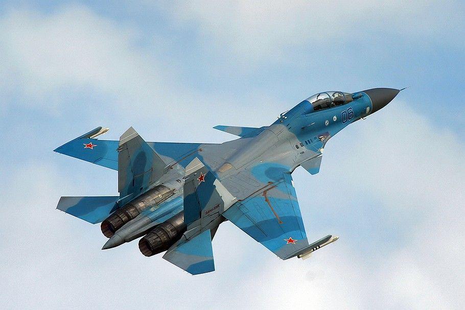 В России потерпел крушение истребитель Су-30/ фото only-avia.ru