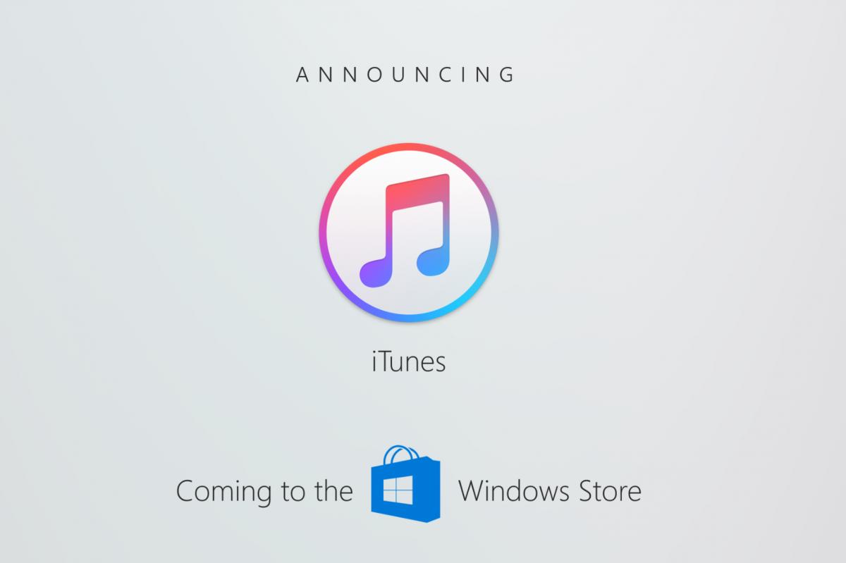 Програвач iTunes з'явиться у Windows Store
