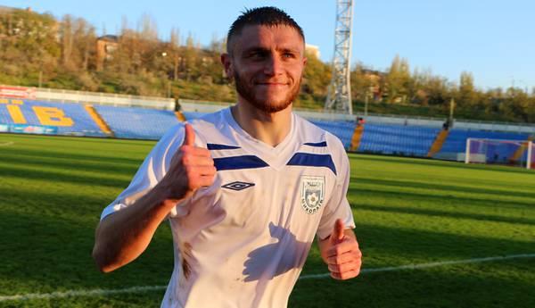 Сергийчук открыл счет в матче