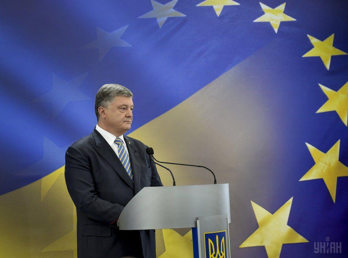 Востаннє Порошенко був на Тернопільщині у грудні 2016 року, фото УНИАН