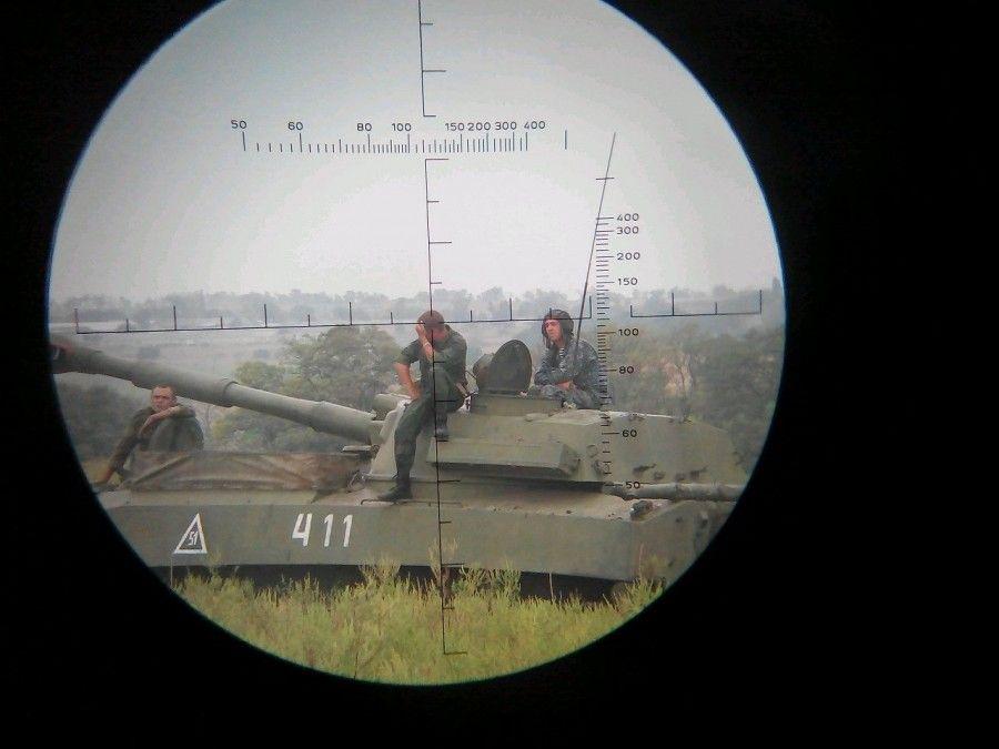Раскрыт полный состав и вооружение самоходного артдивизиона боевиков 1-й ОМСБр / informnapalm.org