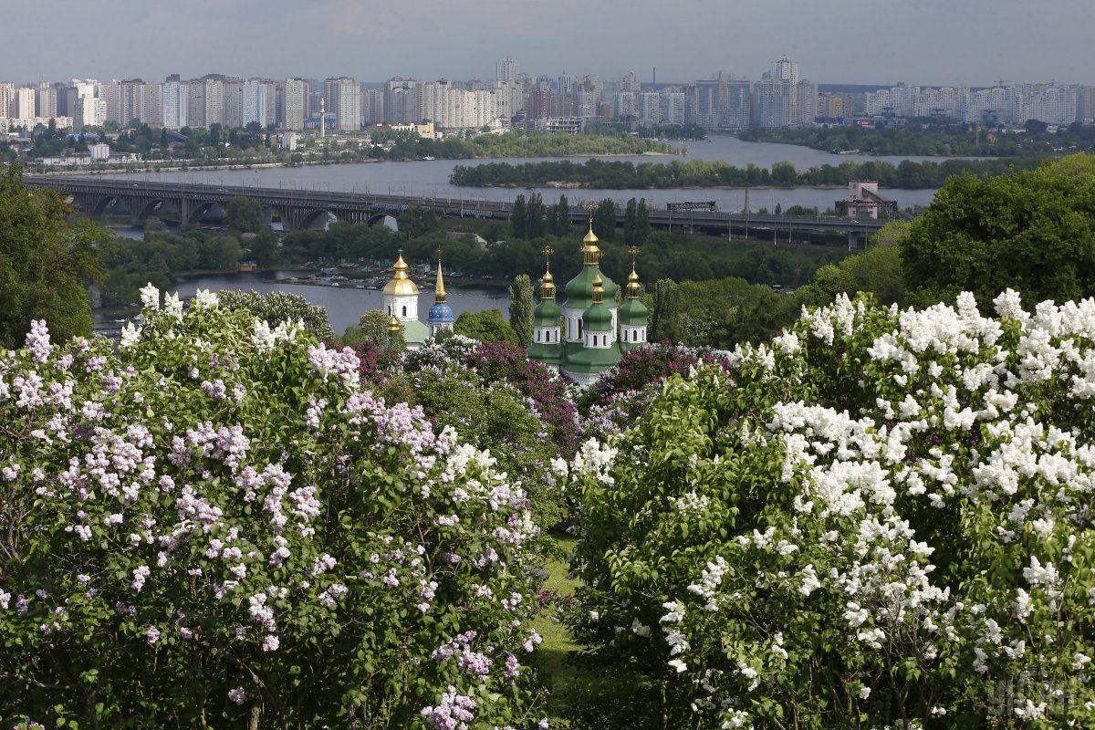 У Києві встановилася рекордна температура / фото УНІАН