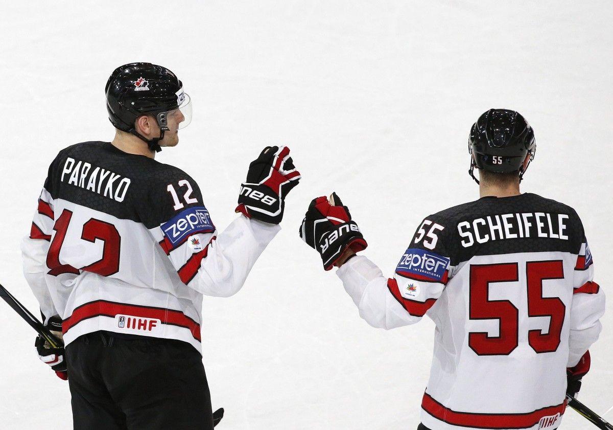 Сборная Канады выиграла групповой турнир ЧМ / Reuters