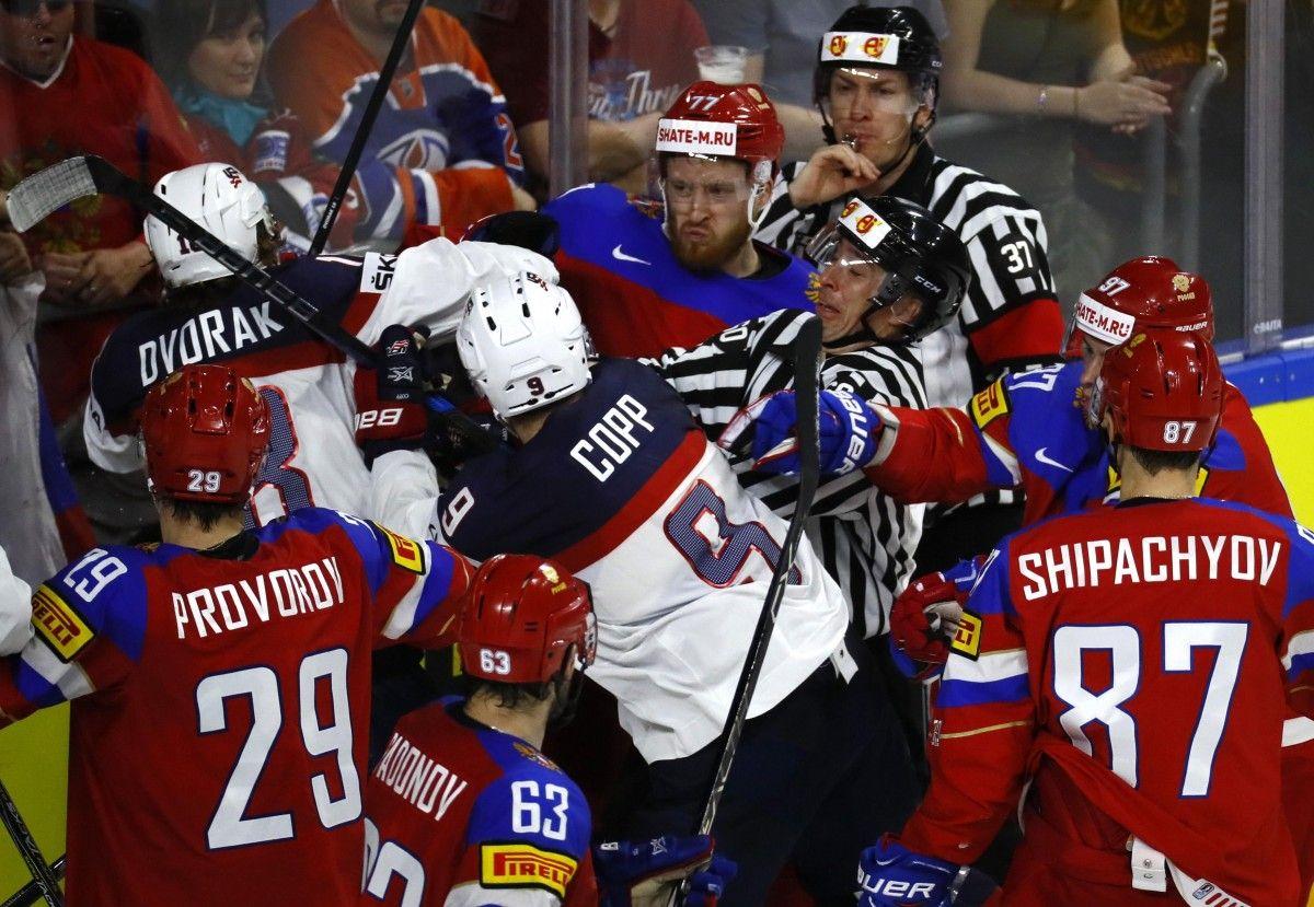 Россия - США - 3:5 / Reuters