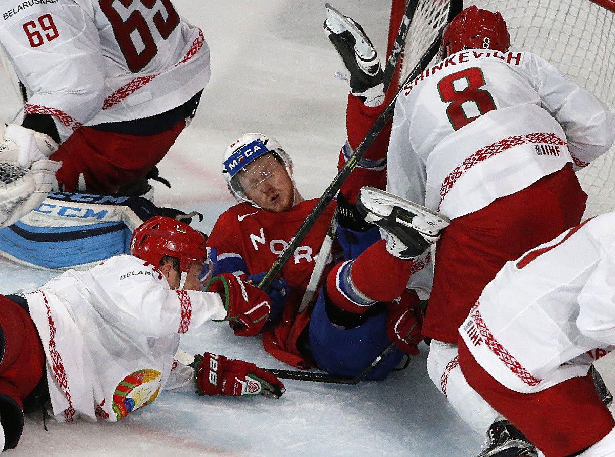 Беларусь - Норвегия - 4:3 / Reuters