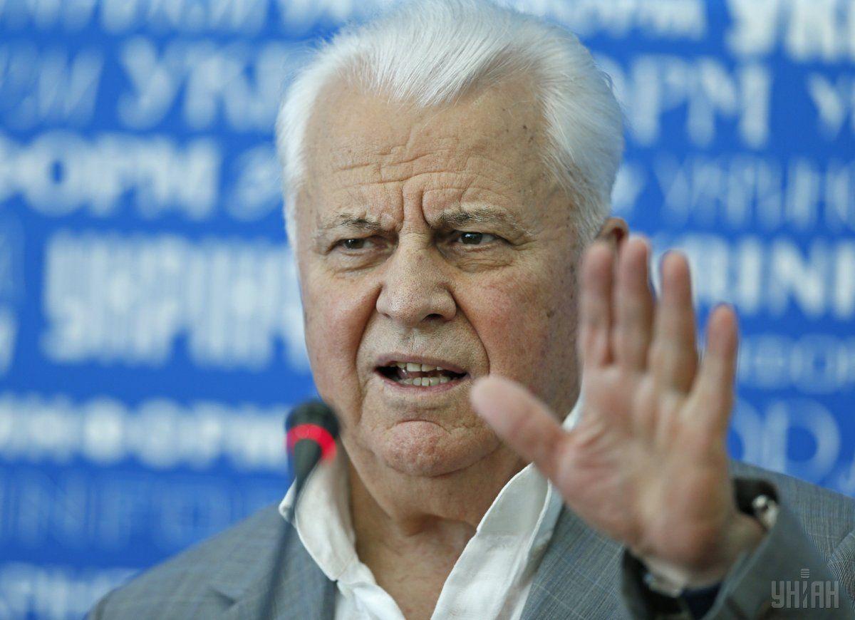 Кравчук дав Вакарчуку таЗеленському цінну пораду перед виборами президента / фото УНІАН
