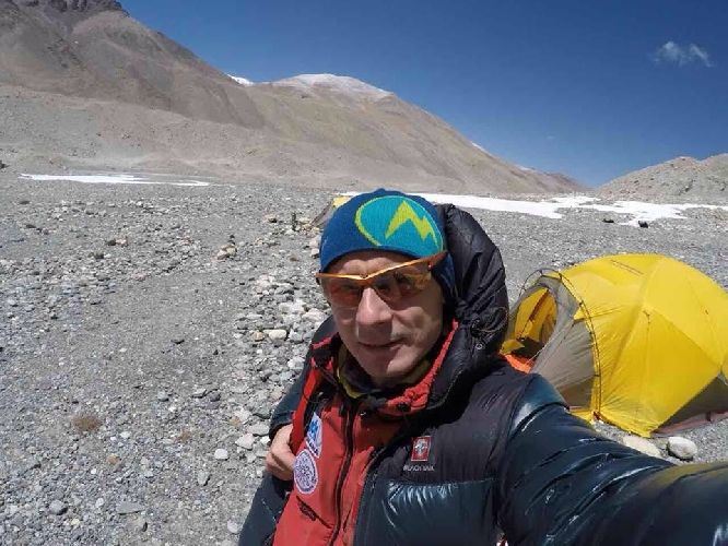 Сипавин покорил Эверест / dsns.gov.ua
