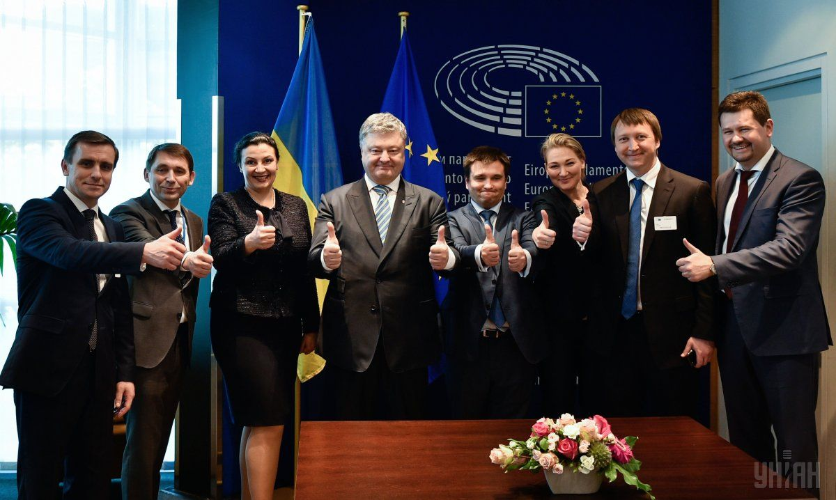The European Union officially announced visa liberalization for Ukraine / Photo from UNIAN