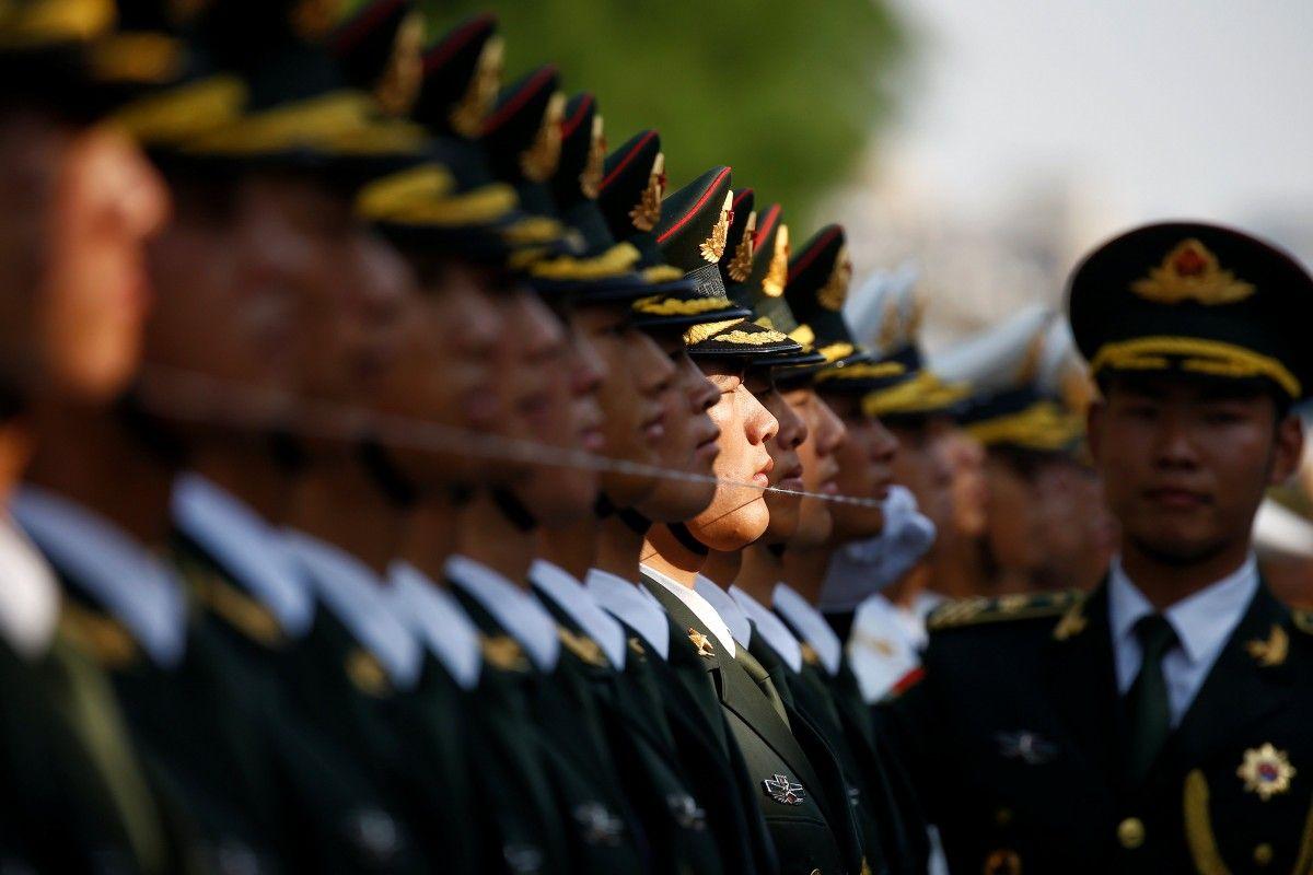 Армия Китая быстро наращивает боевые возможности / фото REUTERS