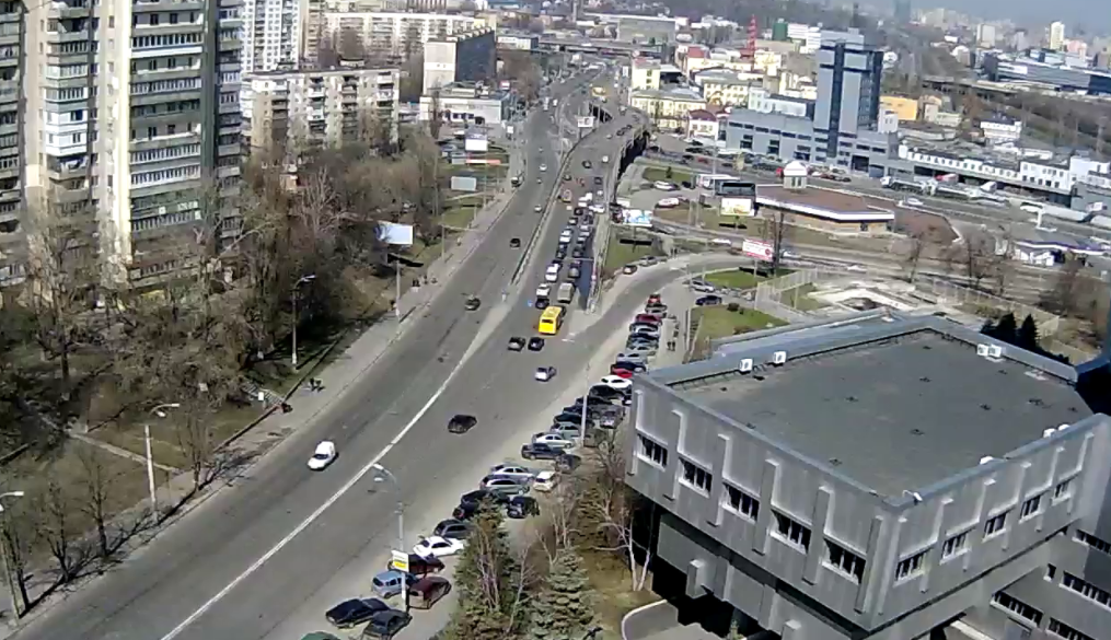 В Киеве перекроют проспект науки / videoprobki.ua