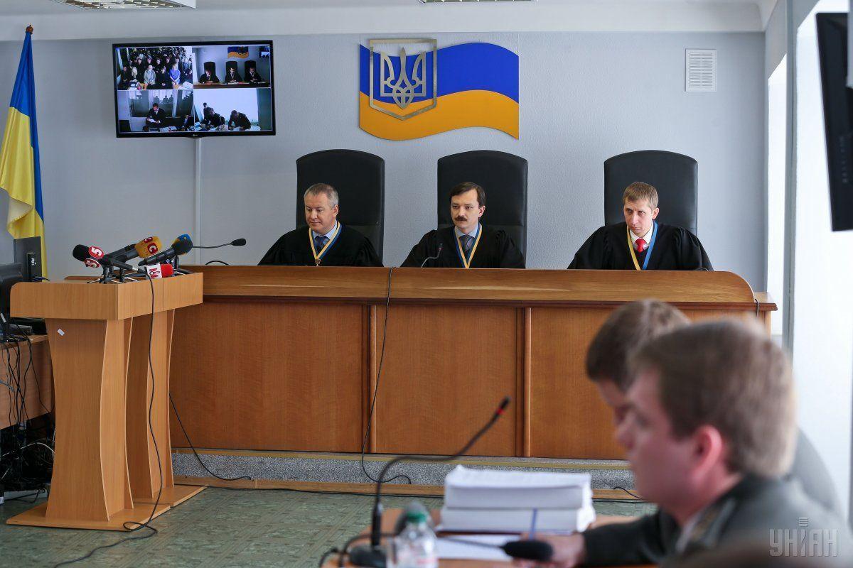Сейчас в суде налаживают связь для связи с оккупированным Крымом для допроса свидетеля / фото УНИАН