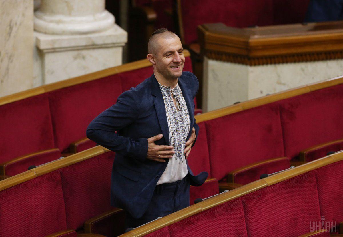 Гаврилюк не захотел отвечать на вопросы Крутчака / фото УНИАН