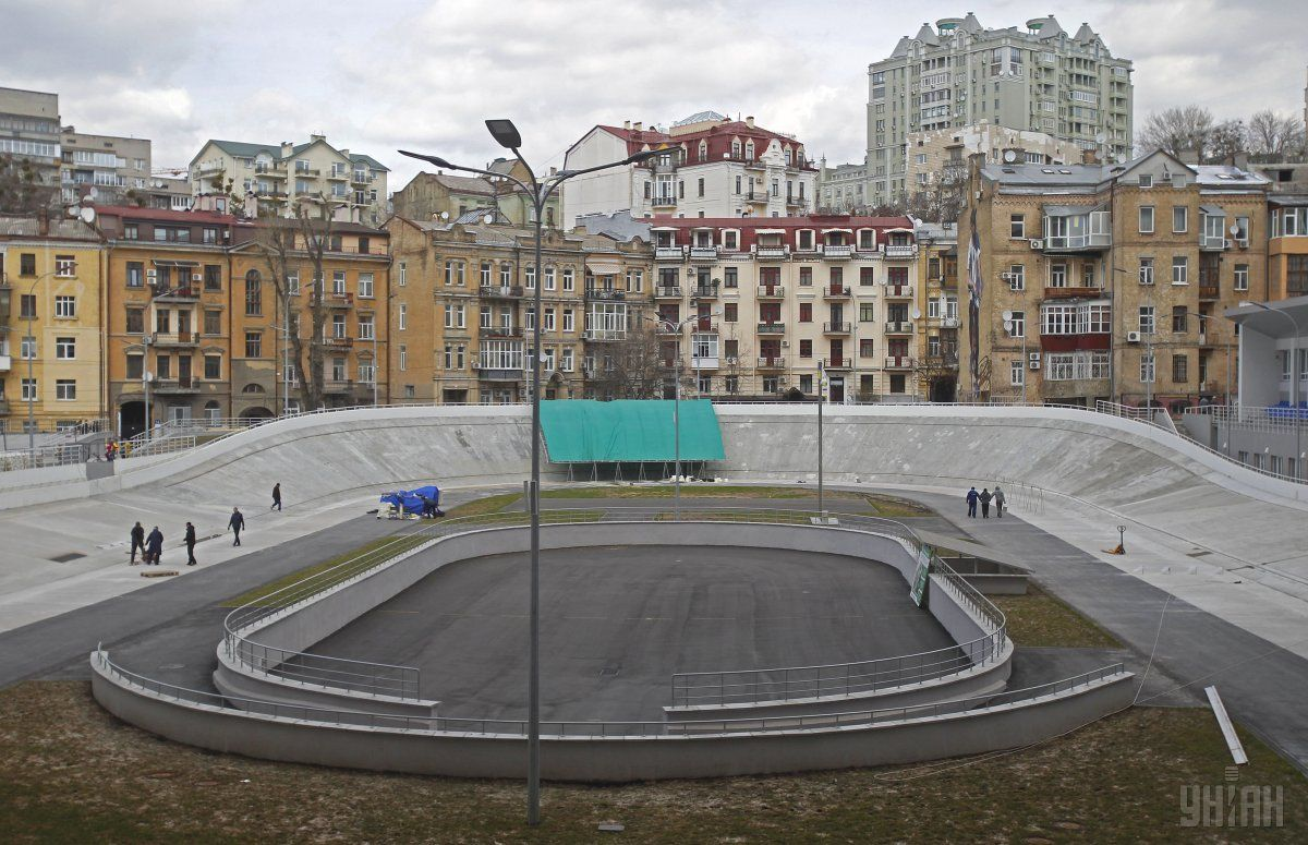 Интерактивная видео-инсталляция расскажет об истории Киевского велотрека / Фото УНИАН