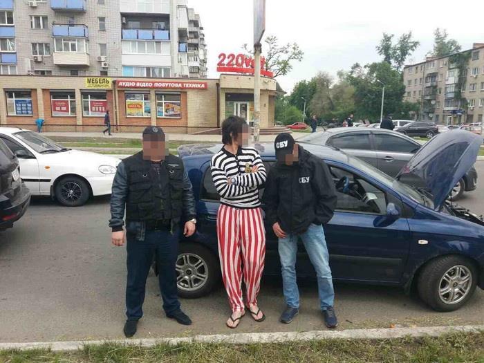 Злодія видворять із України / фото СБУ