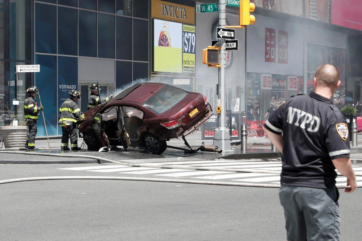 Місце ДТП у Нью-Йорку / REUTERS