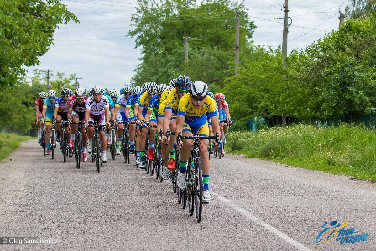 Самая крупная велогонка страны Tour of Ukraine приближается к своему завершению / Tour of Ukraine