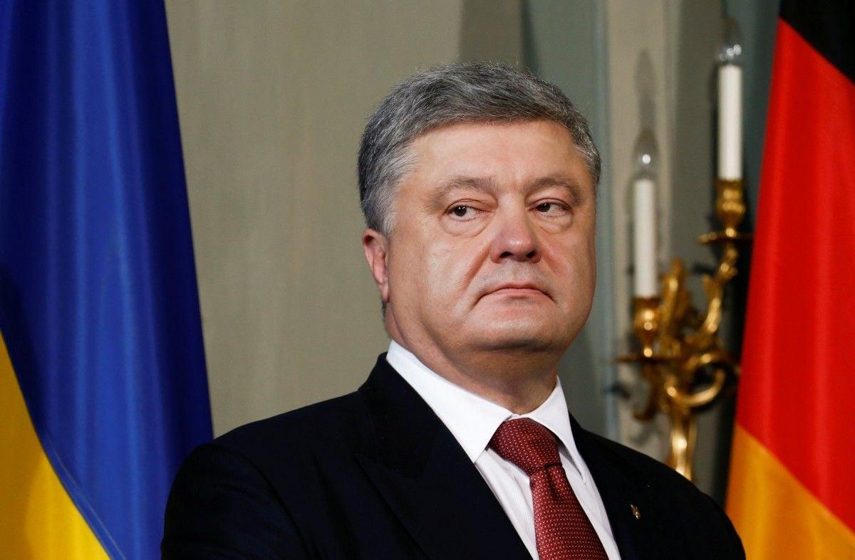 Президент Украины Петр Порошенко / REUTERS