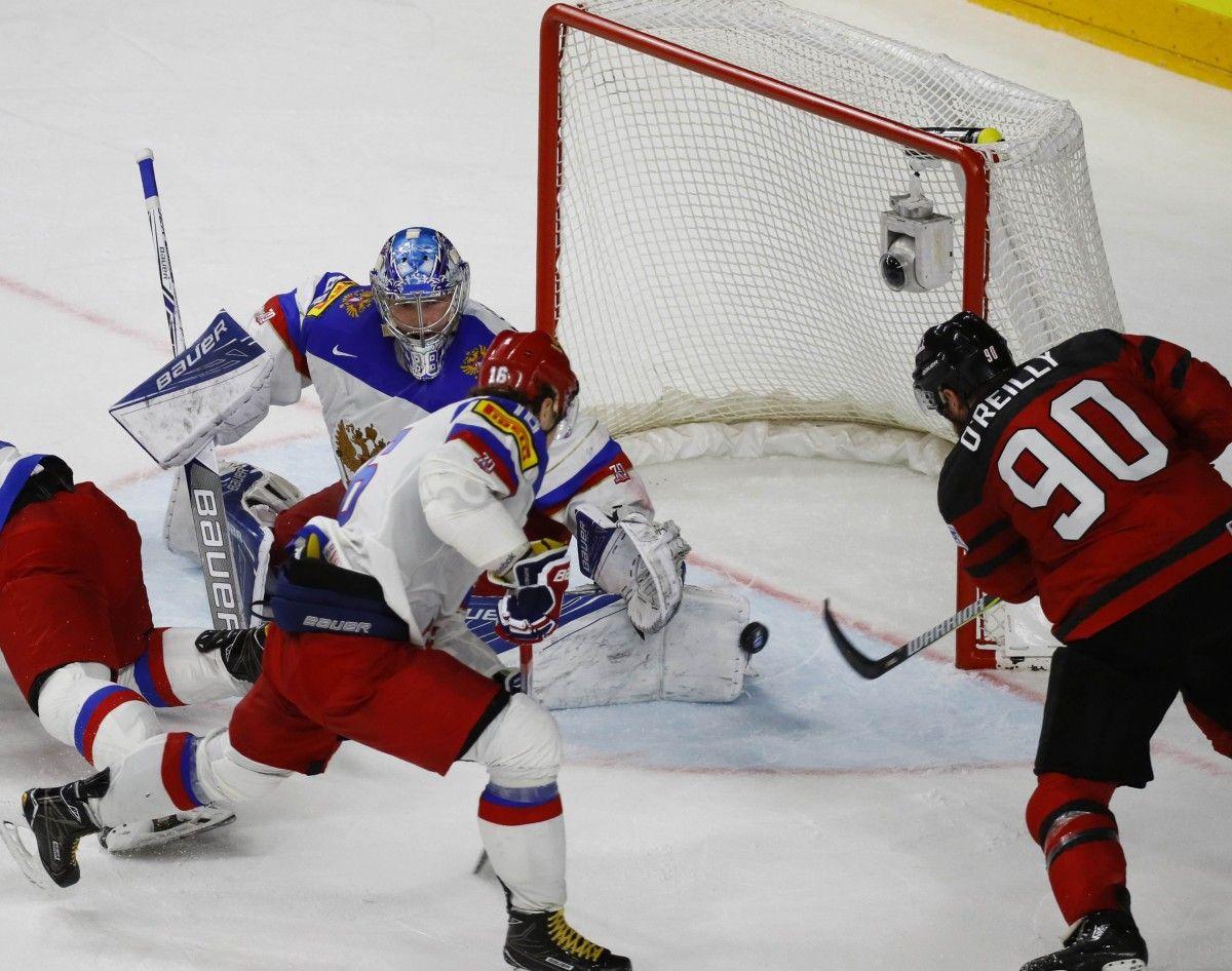 Збірна Канади побила росіян у півфіналі чемпіонату світу з хокею і вийшла у фінал