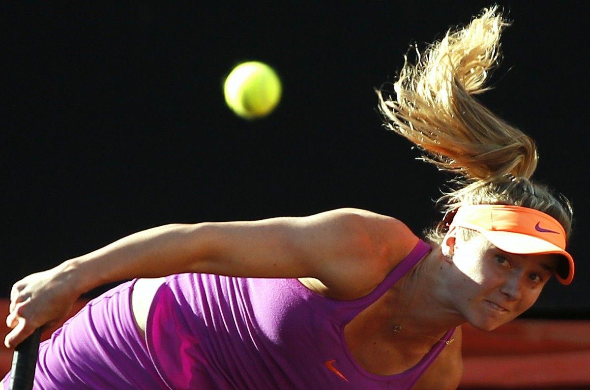 Элина Свитолина благодаря победе в полуфинале в Риме окажется в восьмерке сеяных на Ролан Гаррос / Reuters