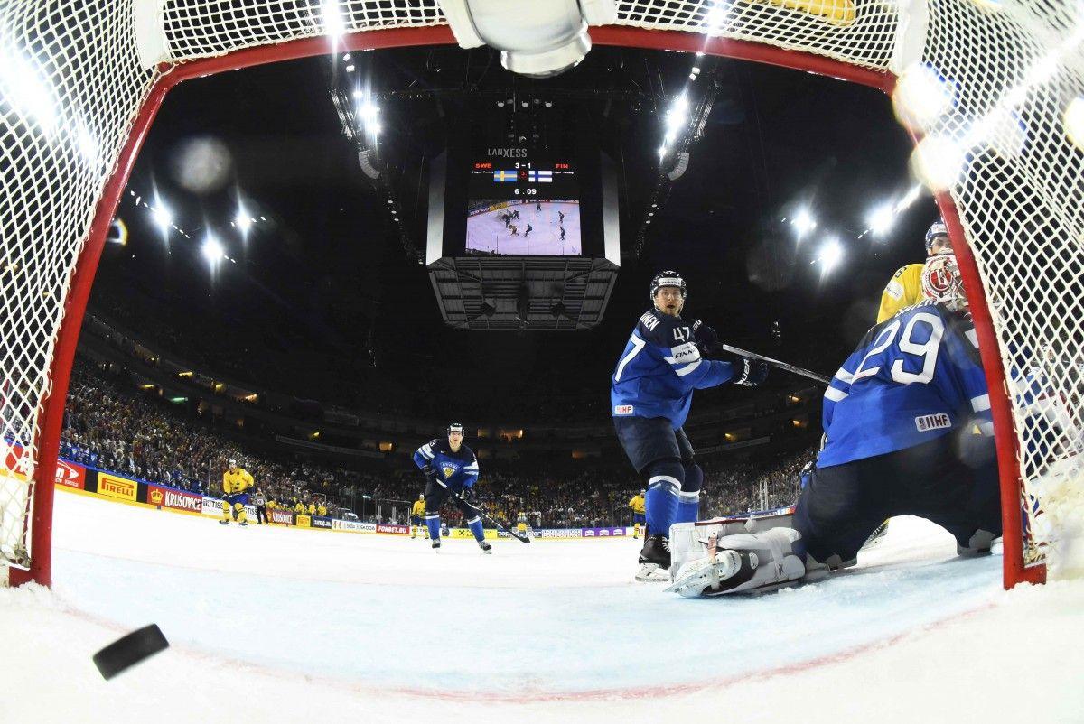 Швеция - Финляндия - 4:1 / Reuters
