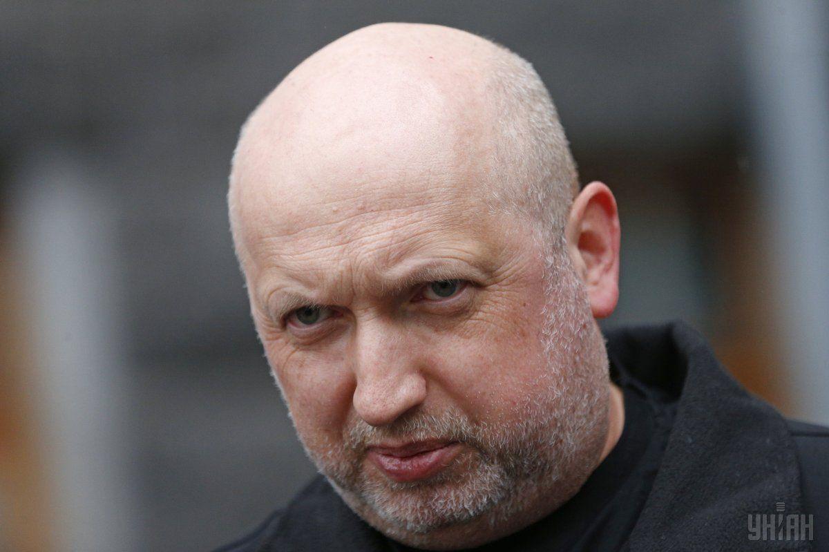 Турчинов наголосив, що на заваді провокаційним спробам стоїть Національна Гвардія / фото УНІАН