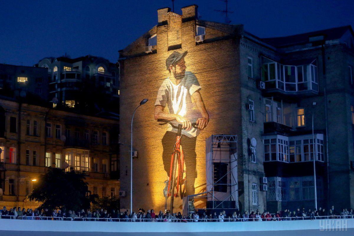 Відкриття Київського велотреку 20 травня / фото УНІАН