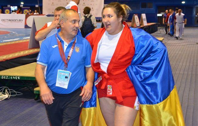 Сапсай получила второе золото для сборной Украины / sambo.net.ua