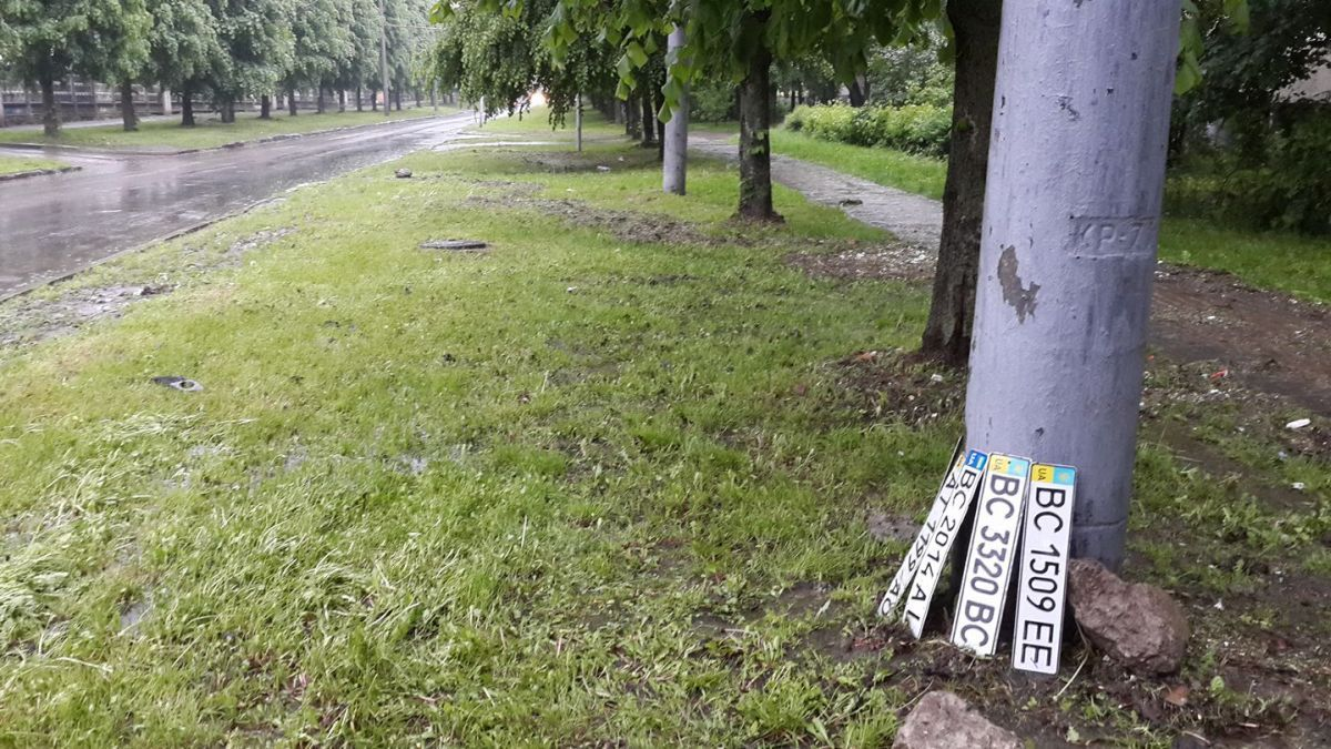 Непогода во Львове / Facebook: Андрій Харабара