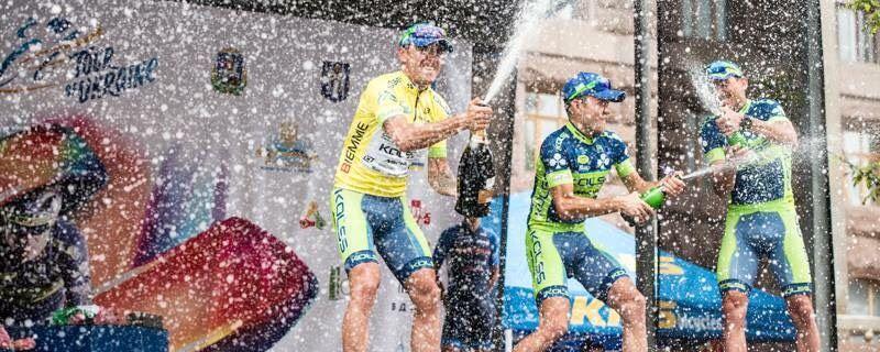 Церемония награждения победителей Tour of Ukraine прошла на Крещатике / Tour of Ukraine