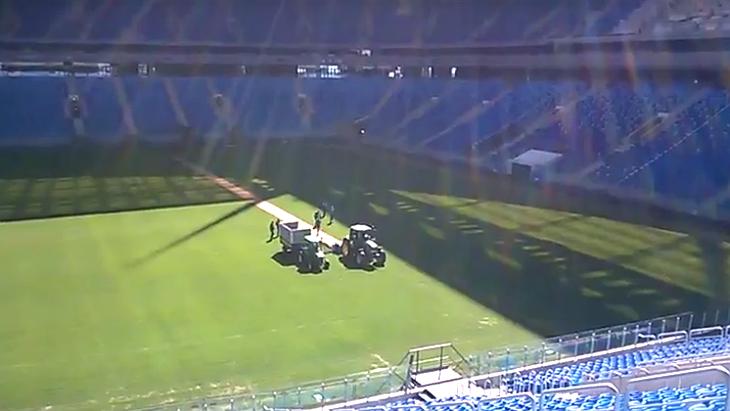 На арене в Петербурге будут перестилать газон перед Кубком конфедераций / Livesport