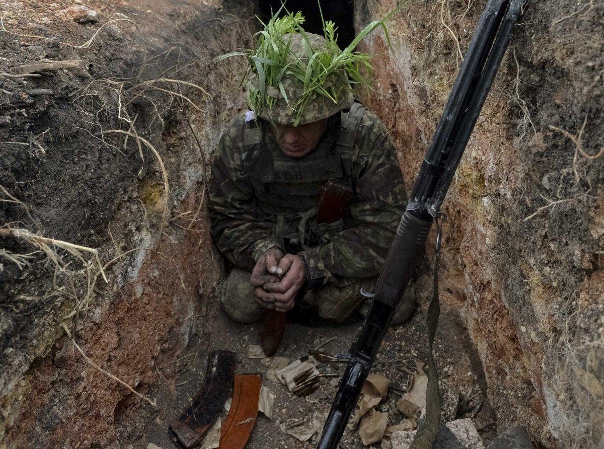 Ссамого начала суток взоне АТО ранения получили четверо украинских бойцов
