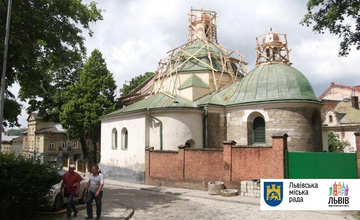 Во Львове реставрируют одну из старейших церквей города