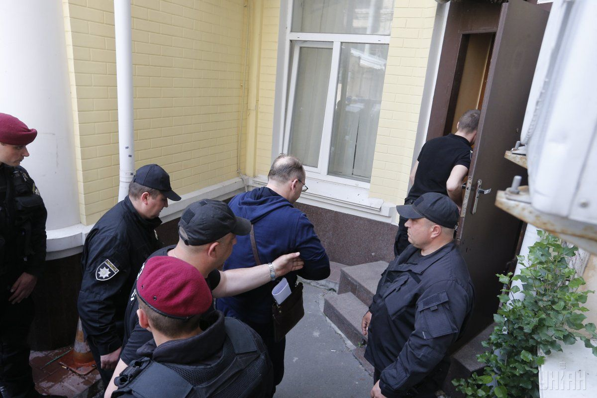 Lutsenko boasted a large-scale raid / Photo from UNIAN